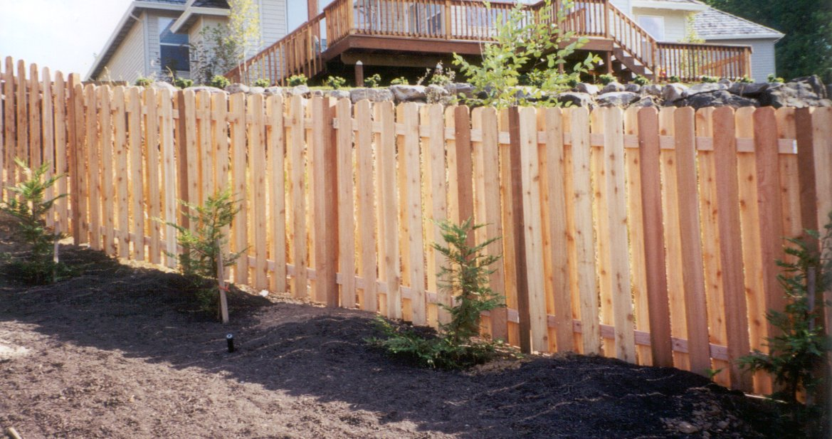 Cedar wood privacy fence panels wooden fence plans fence for 4 foot fence ideas