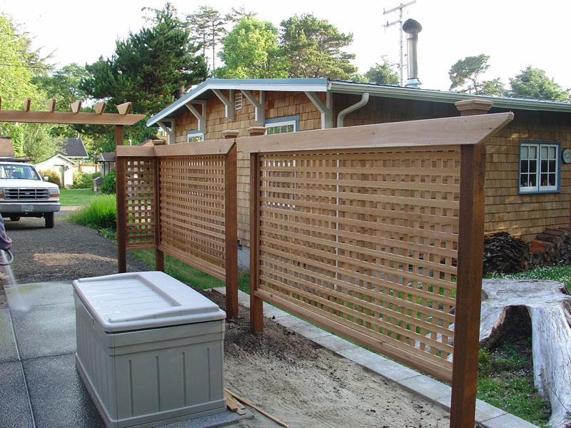 Wood Fences, a design gallery.